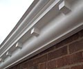 Smooth Dentil Cornice Strip