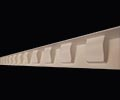 Small Dentil Cornice Strip