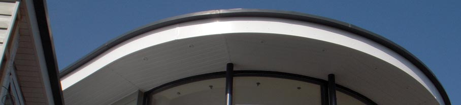 GRP Radius Gutters and Curved Guttering from Man Friday GRP Solutions