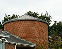 Large Circular GRP Roof